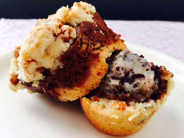 Bakeaholic_Cookie Dough Muffin_innen