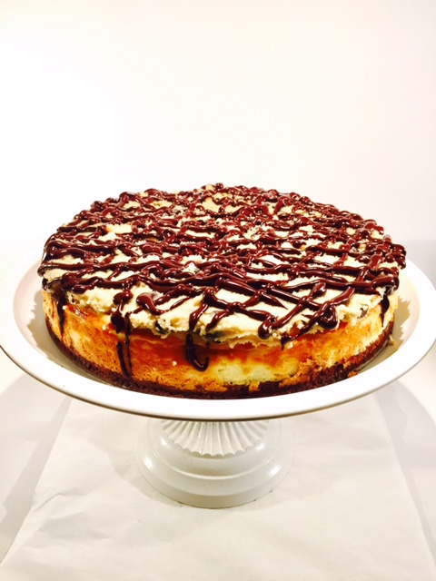 Brownie Cheesecake mit Cookie Dough_Kuchen
