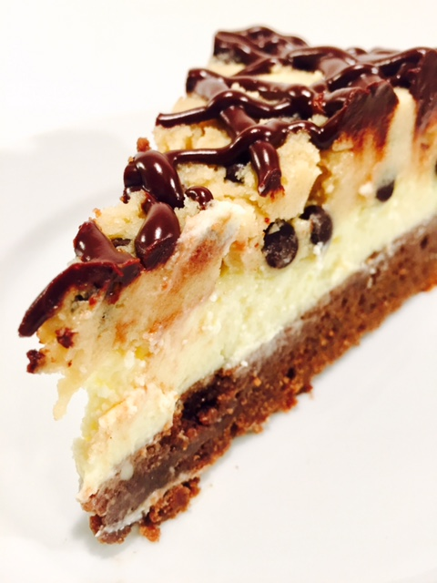 Brownie Cheesecake mit Cookie Dough_Titelbild